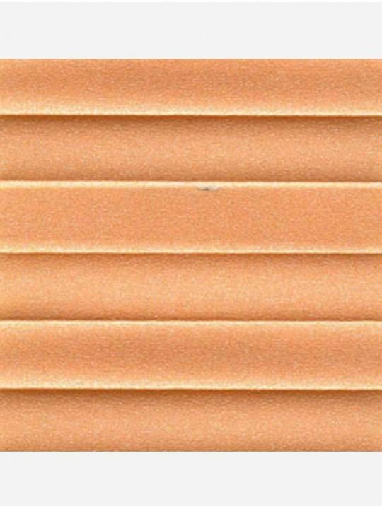 Штора плиссе тканевая Опал оранжевый