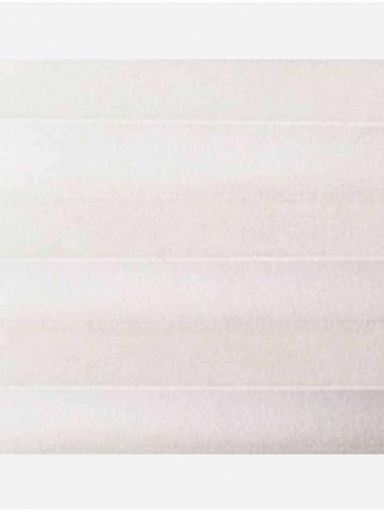 Штора плиссе тканевая Опера белый