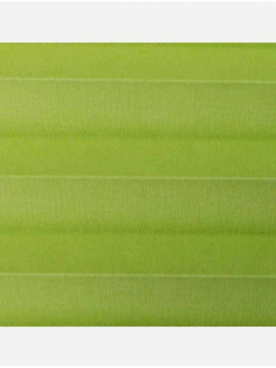 Штора плиссе тканевая Опера салатовый