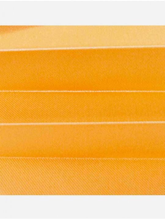 Штора плиссе тканевая Престиж димаут оранжевый