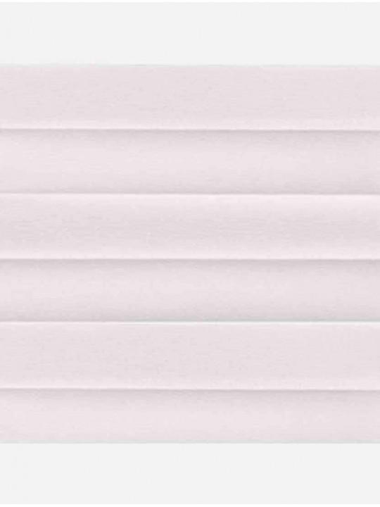Штора плиссе тканевая Шарм белый