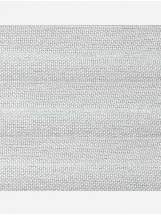 Штора плиссе тканевая Силкскрин белый