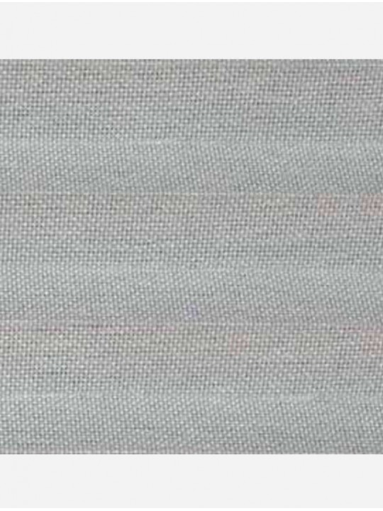 Штора плиссе тканевая Силкскрин Алю светло-серый