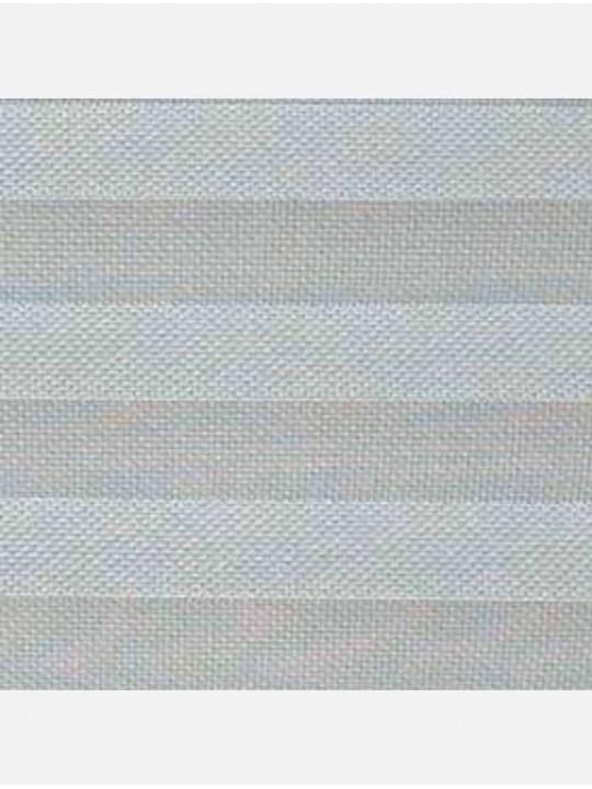 Штора плиссе тканевая Скрин Ажур серебро
