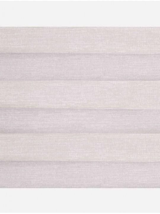 Штора плиссе тканевая Тигрис перла светло-бежевый