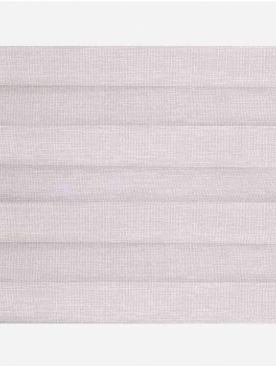 Штора плиссе тканевая Тигрис перла бежевый