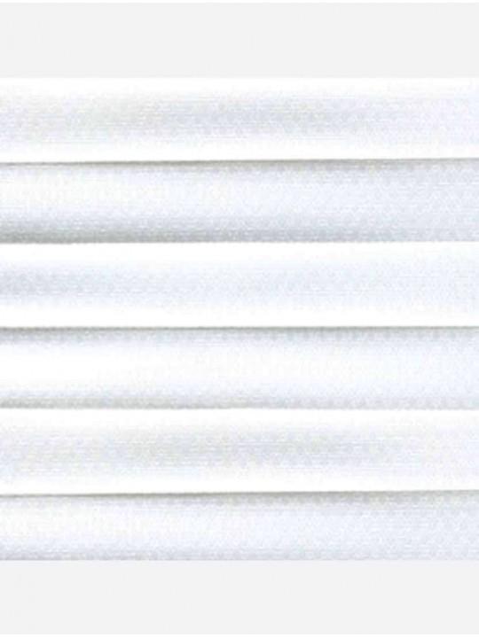 Штора плиссе тканевая Йорк белый