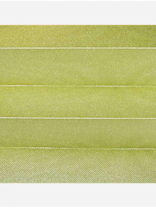 Штора плиссе тканевая Жемчуг оливковый