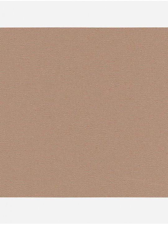 Рулонные тканевые жалюзи Уни-1 Альфа блэкаут светло-коричневый