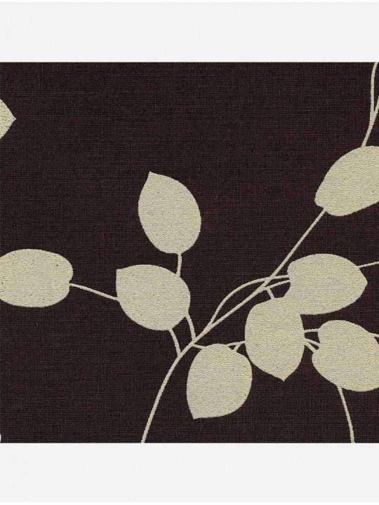 Минирулонные тканевые жалюзи Аллея темно-коричневый