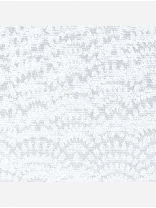 Минирулонные тканевые жалюзи Ажур белые