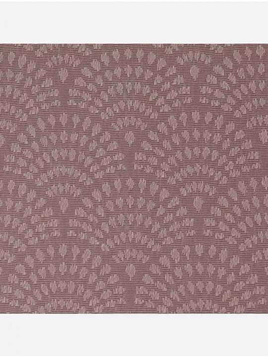 Минирулонные тканевые жалюзи Ажур коричневые