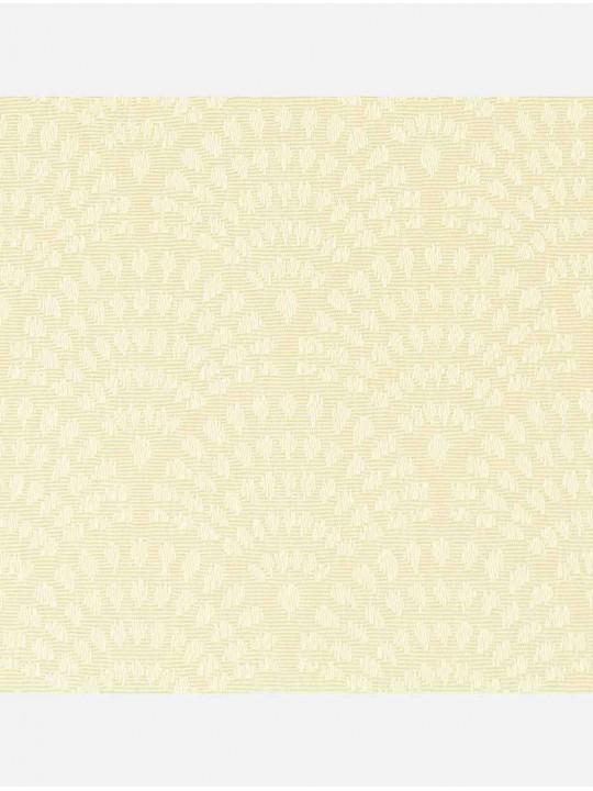 Минирулонные тканевые жалюзи Ажур светло желтый