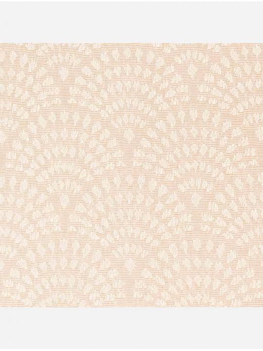 Минирулонные тканевые жалюзи Ажур персиковый