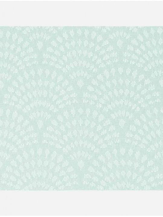 Рулонные тканевые жалюзи Уни-1 Ажур мята