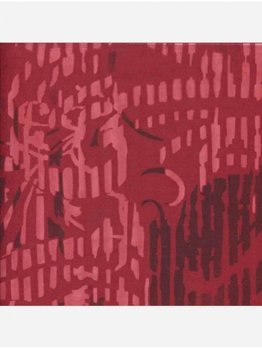 Минирулонные тканевые жалюзи Греза красный