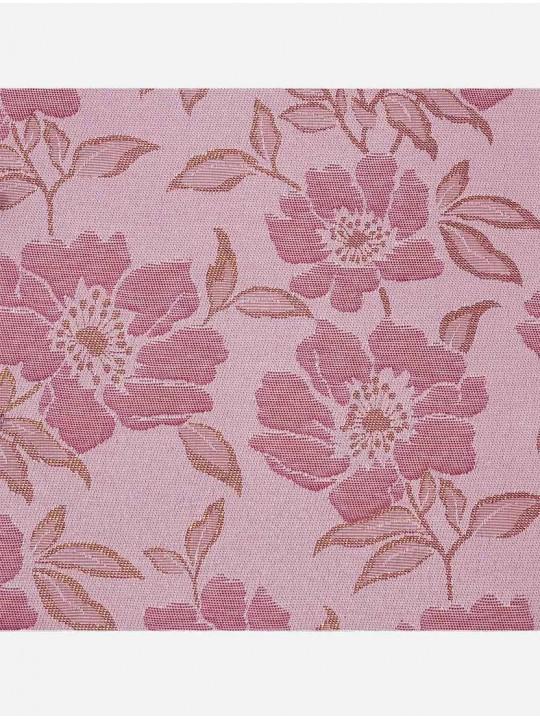 Минирулонные тканевые жалюзи Камелия розовый
