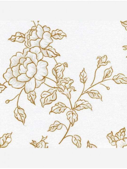Рулонные тканевые жалюзи Уни-1 Китайская роза коричневый