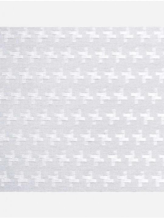 Рулонно-кассетные жалюзи Uni-2 с пружиной Марципан белый
