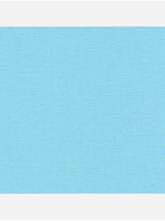 Минирулонные тканевые жалюзи Омега голубой