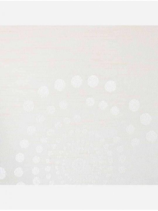 Минирулонные тканевые жалюзи Орбита блэкаут белый