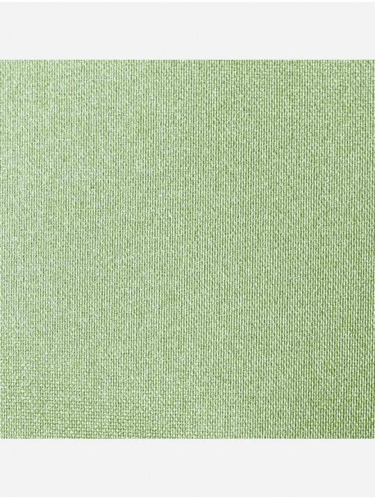 Минирулонные тканевые жалюзи Перл зеленый
