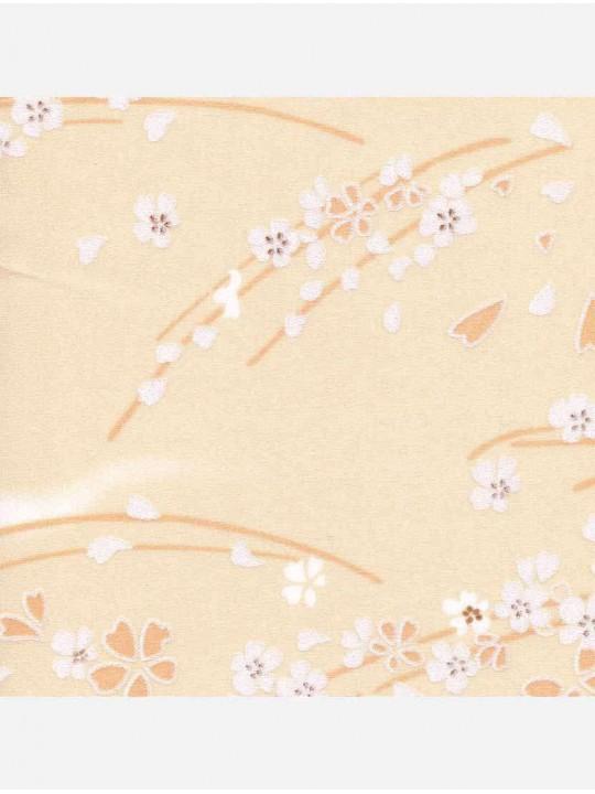 Минирулонные тканевые жалюзи Сакура бежевый