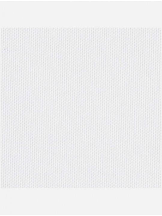 Минирулонные тканевые жалюзи Сатин блэкаут белый
