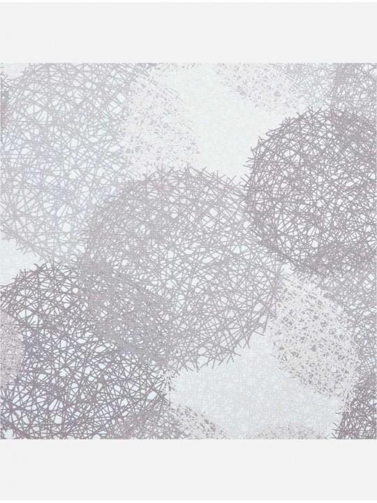 Минирулонные тканевые жалюзи Сканди серый