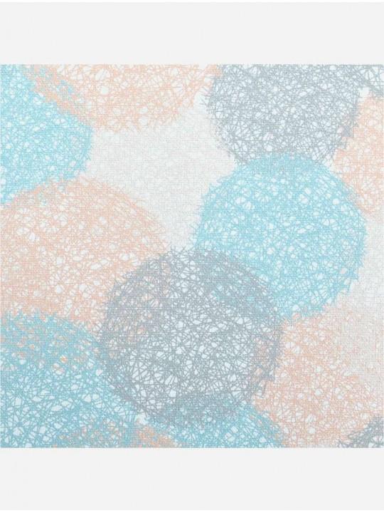 Минирулонные тканевые жалюзи Сканди бирюзовый