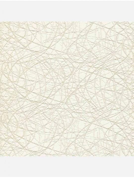 Минирулонные тканевые жалюзи Сфера блэкаут ваниль