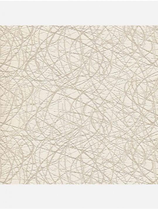 Рулонные тканевые жалюзи Уни-1 Сфера блэкаут бежевый