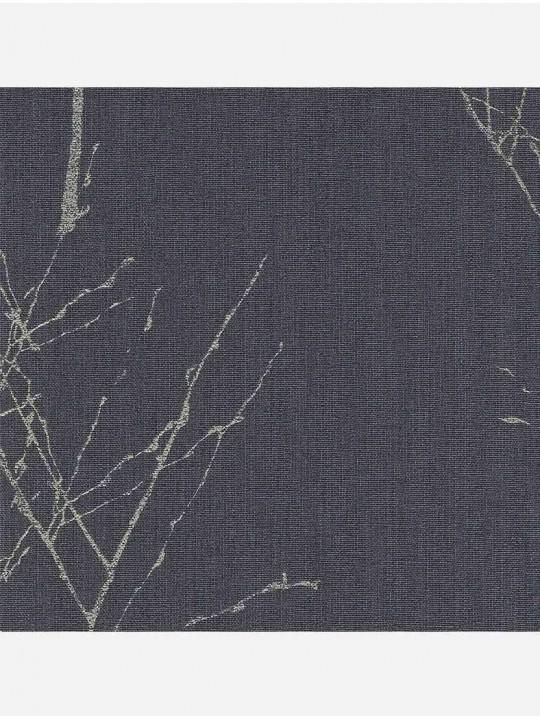 Минирулонные тканевые жалюзи Тальник темно-серый