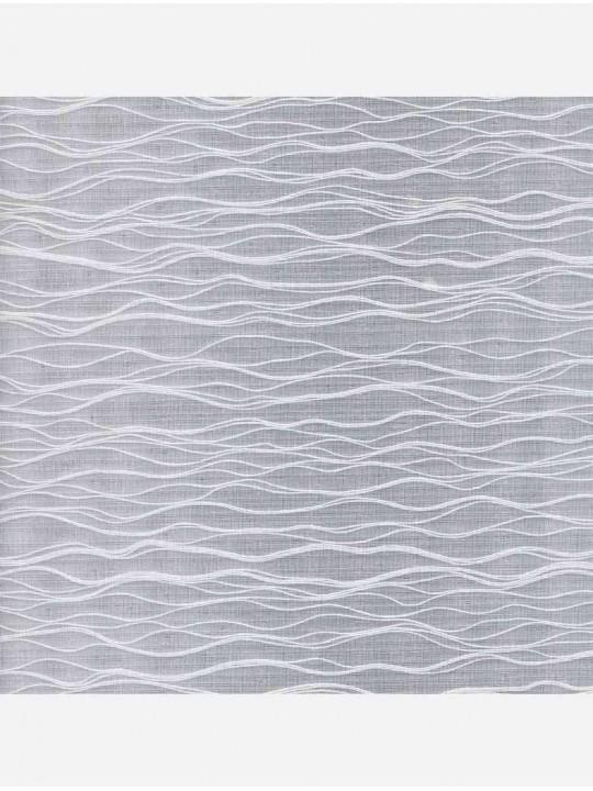 Минирулонные тканевые жалюзи Бланш белый