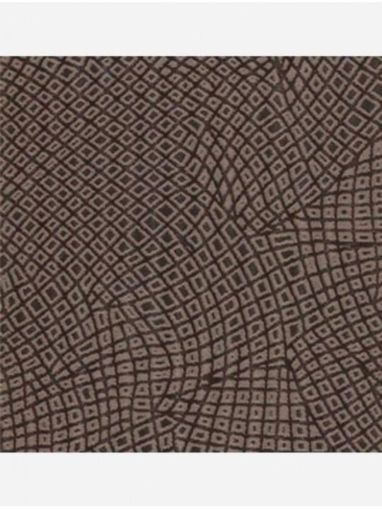 Минирулонные тканевые жалюзи Кроко бронзовый