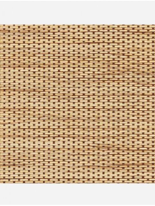 Минирулонные тканевые жалюзи Шанхай светло-коричневый