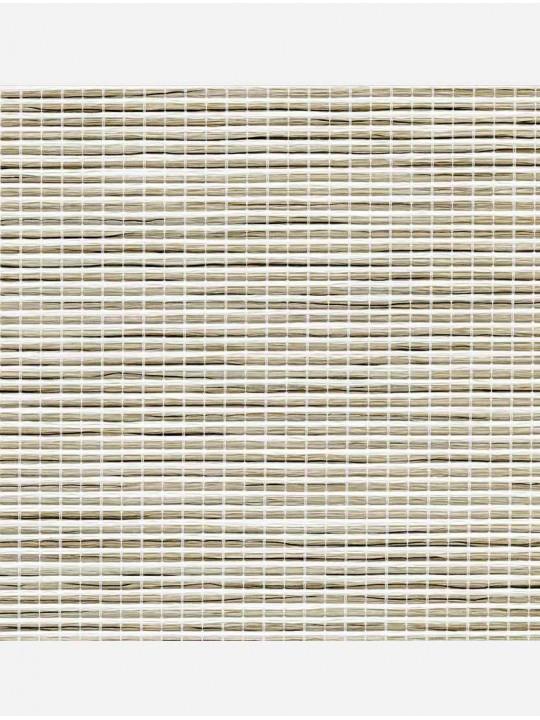 Минирулонные тканевые жалюзи Шикатан путь самурая серый