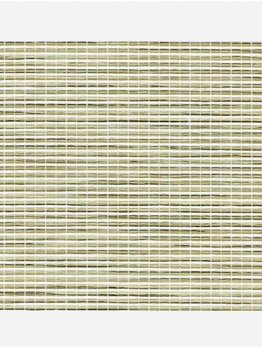 Минирулонные тканевые жалюзи Шикатан путь светло-зеленый