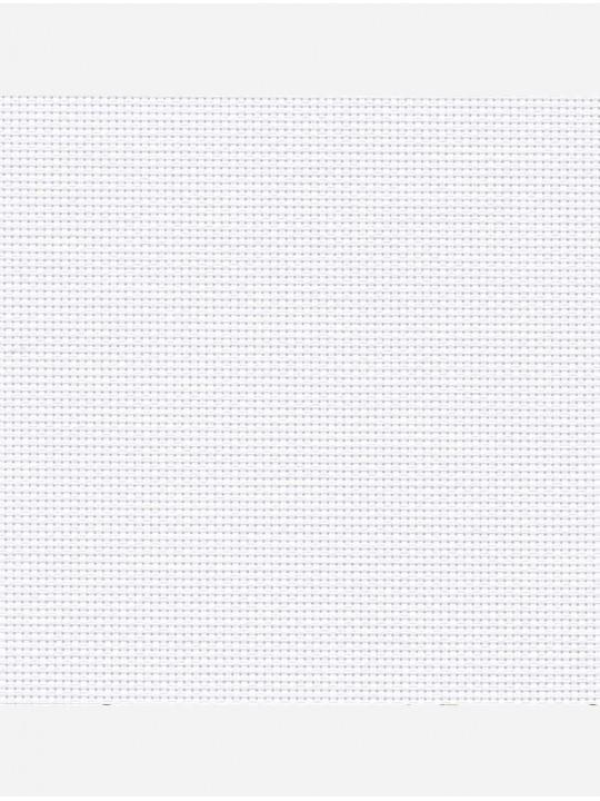 Минирулонные тканевые жалюзи Скрин белый