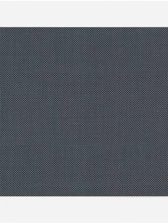 Минирулонные тканевые жалюзи Скрин 5% темно-серый