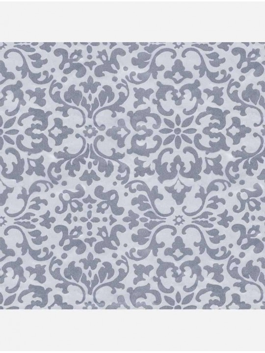 Минирулонные тканевые жалюзи Ясмин светло-серый