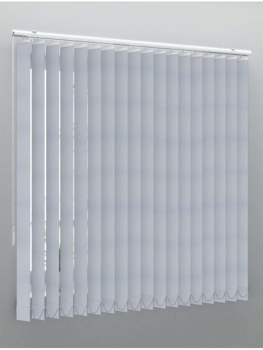 Вертикальные тканевые жалюзи Сиде блэкаут серый