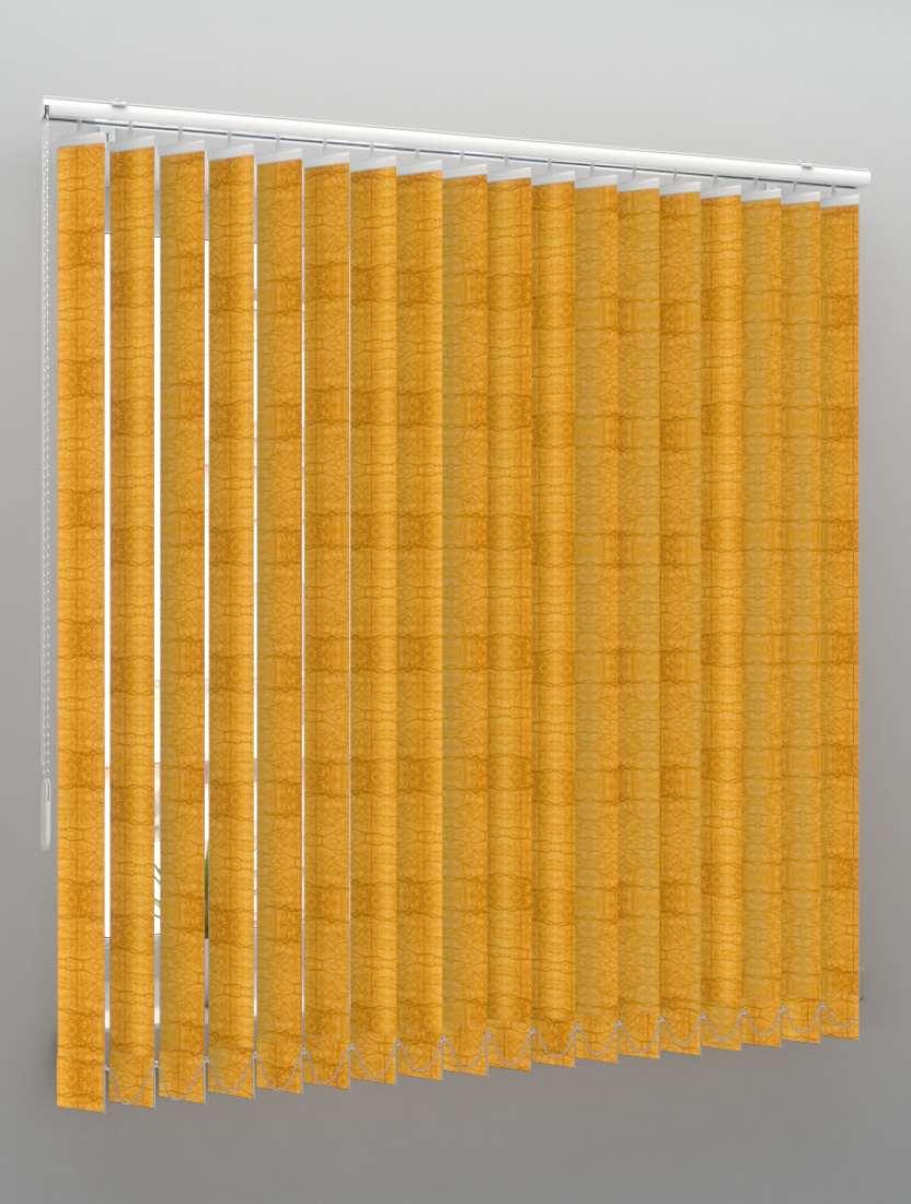 Вертикальные пластиковые жалюзи Фрост золото