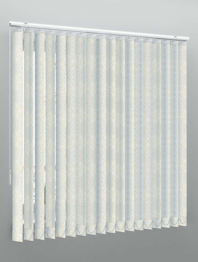 Вертикальные пластиковые жалюзи Мрамор 2 бежевый
