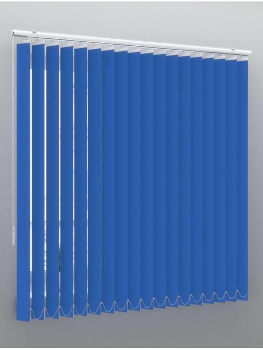 Вертикальные пластиковые жалюзи Стандарт синий