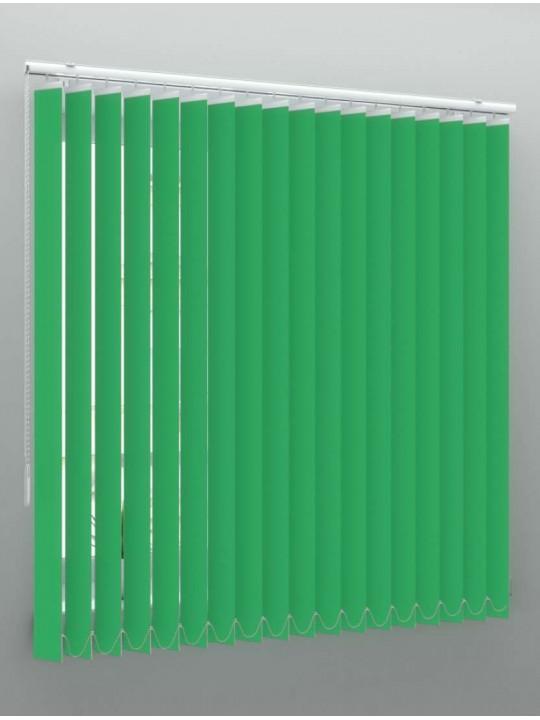 Вертикальные пластиковые жалюзи Стандарт темно-зеленый