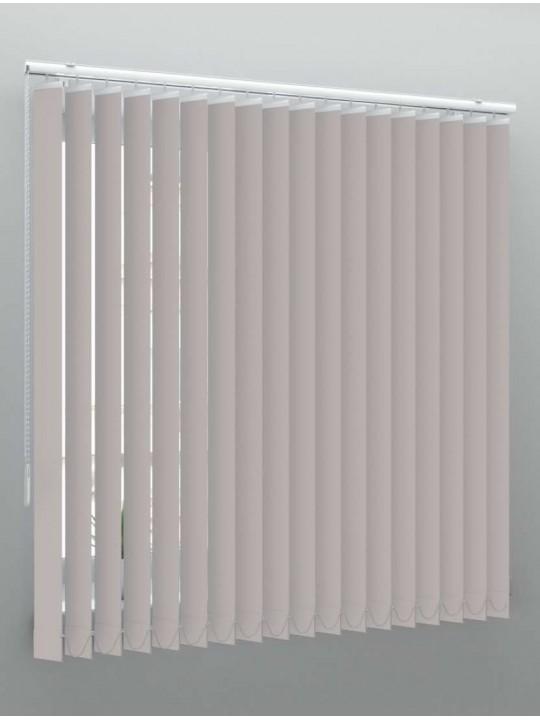 Вертикальные пластиковые жалюзи Стандарт серый