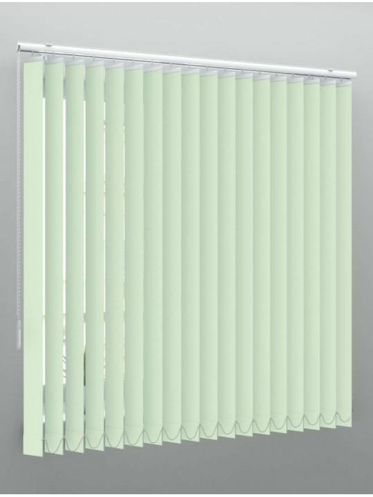 Вертикальные пластиковые жалюзи Стандарт зеленый