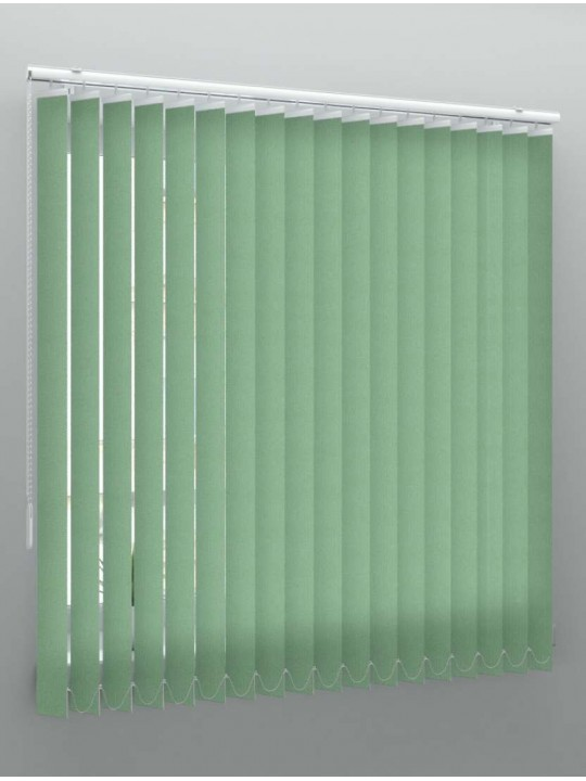 Вертикальные тканевые жалюзи Лайн II оливковый