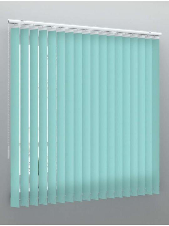 Вертикальные тканевые жалюзи Лайн II бирюзовый